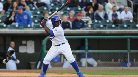 Marquez Smith and the Cubs will try to even their series at Sacramento tonight.
