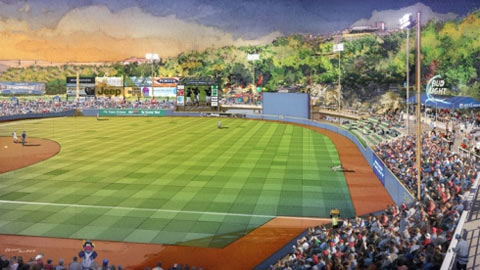 This rendering of the Yanks' new park for 2013 shows that the wayfaring of '12 should be worth it.
