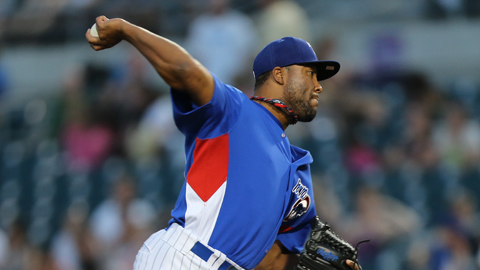Jay Jackson has been part of a hot Iowa Cubs bullpen the last two weeks.